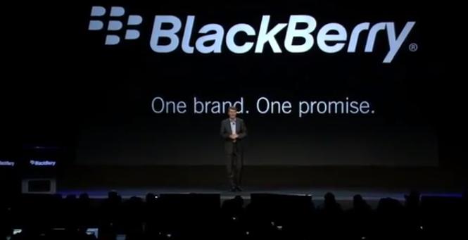 Rebranding BlackBerry