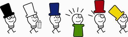 Seis sombreros en uno - Pensamiento lateral en comunicación, Cuaderno de Marcas Corporate