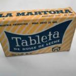 Tableta de dulce de leche La Martona - Mausoleo de Marcas Corporate