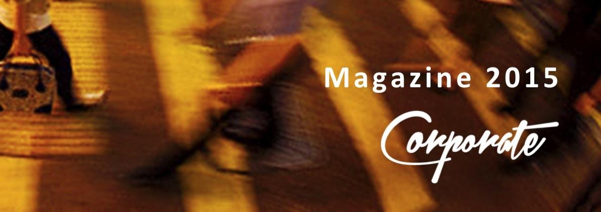 Portada Magazine Corporate 2015