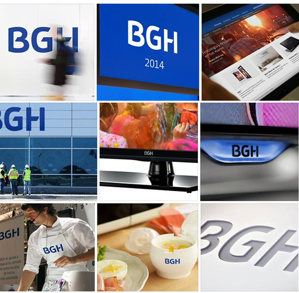 BGH Rebrandings del 2014, Argentina - Magazine Marcas Corporate