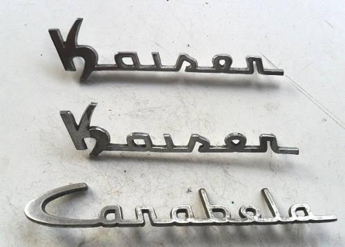Insignias antiguas Kaiser Carabela