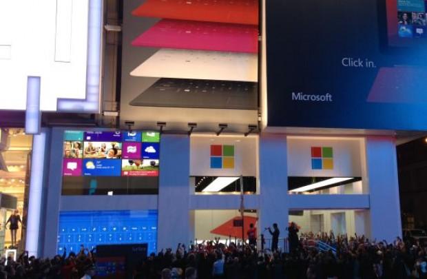 Nueva tienda New York, Nueva marca Microsoft