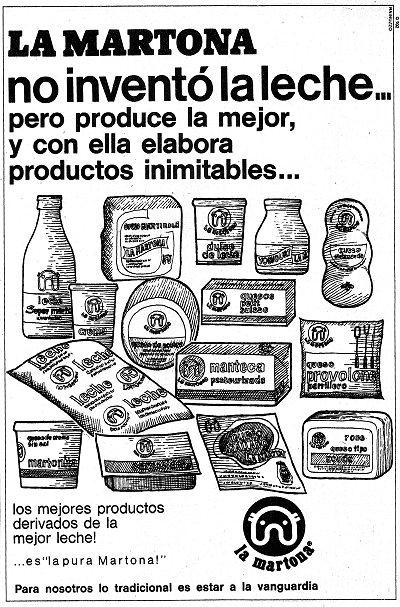 Publicidad de La Martona - Mausoleo de Marcas Corporate