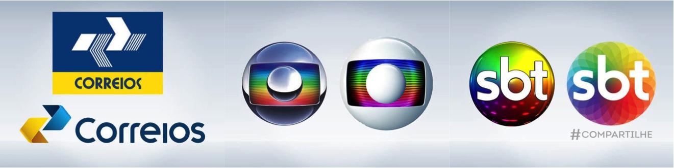 Rebranding 2014 Brasil: Correios, Rede Globo, SBT - Noticias de Marcas Corporate