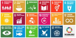 17 objetivos mundiales - Cuaderno de Marcas Corporate