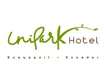 Corporate Consultoría de Marca - Logo Unipark Hotel