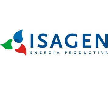 Corporate Consultoría de Marca - Logo Isagen