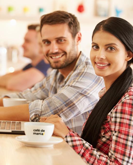 Corporate Cafe de marca - expertos Plan mercadeo marca
